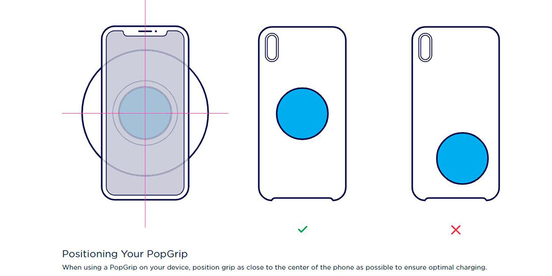 PopSockets PopPower Home wirelessly charge case PopGrip