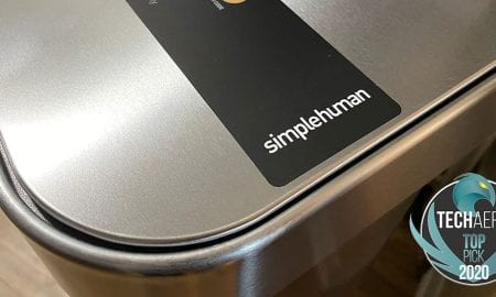 Simplehuman sensor can with voice control