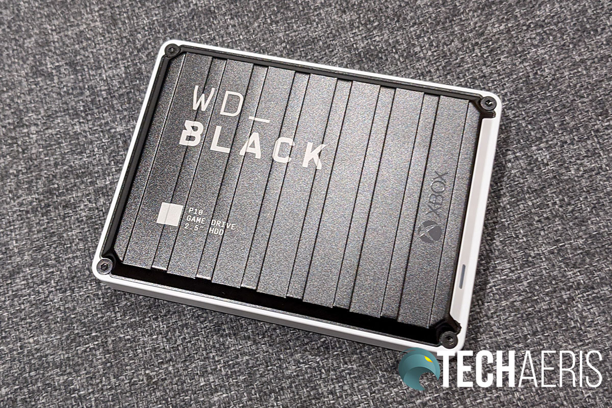 The WD_Black P10 has a rugged, sea-can reminiscent, look