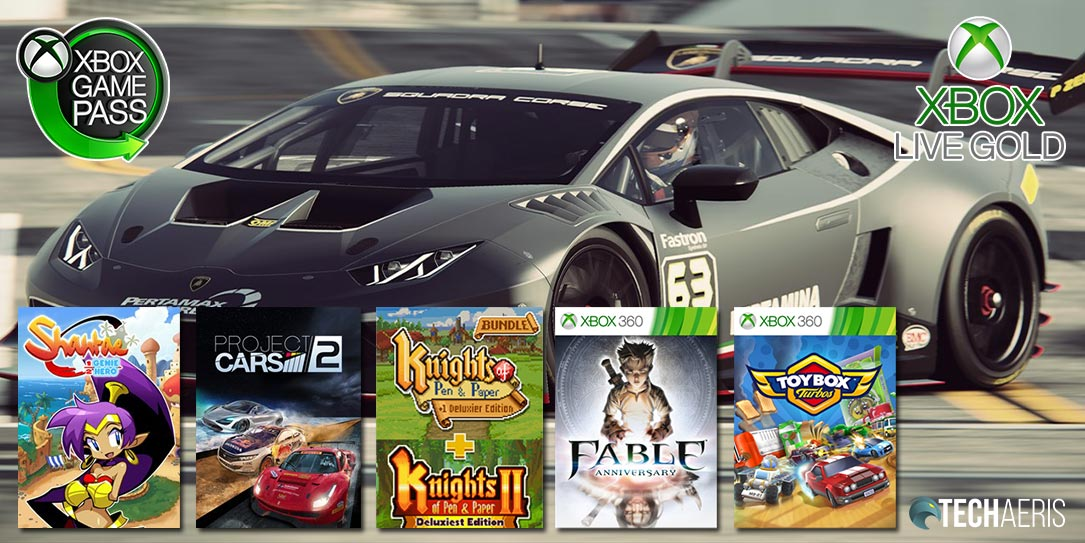 April 2020 Games with Gold