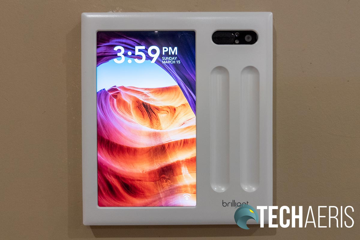 The Brilliant 2-Switch Control for smart home