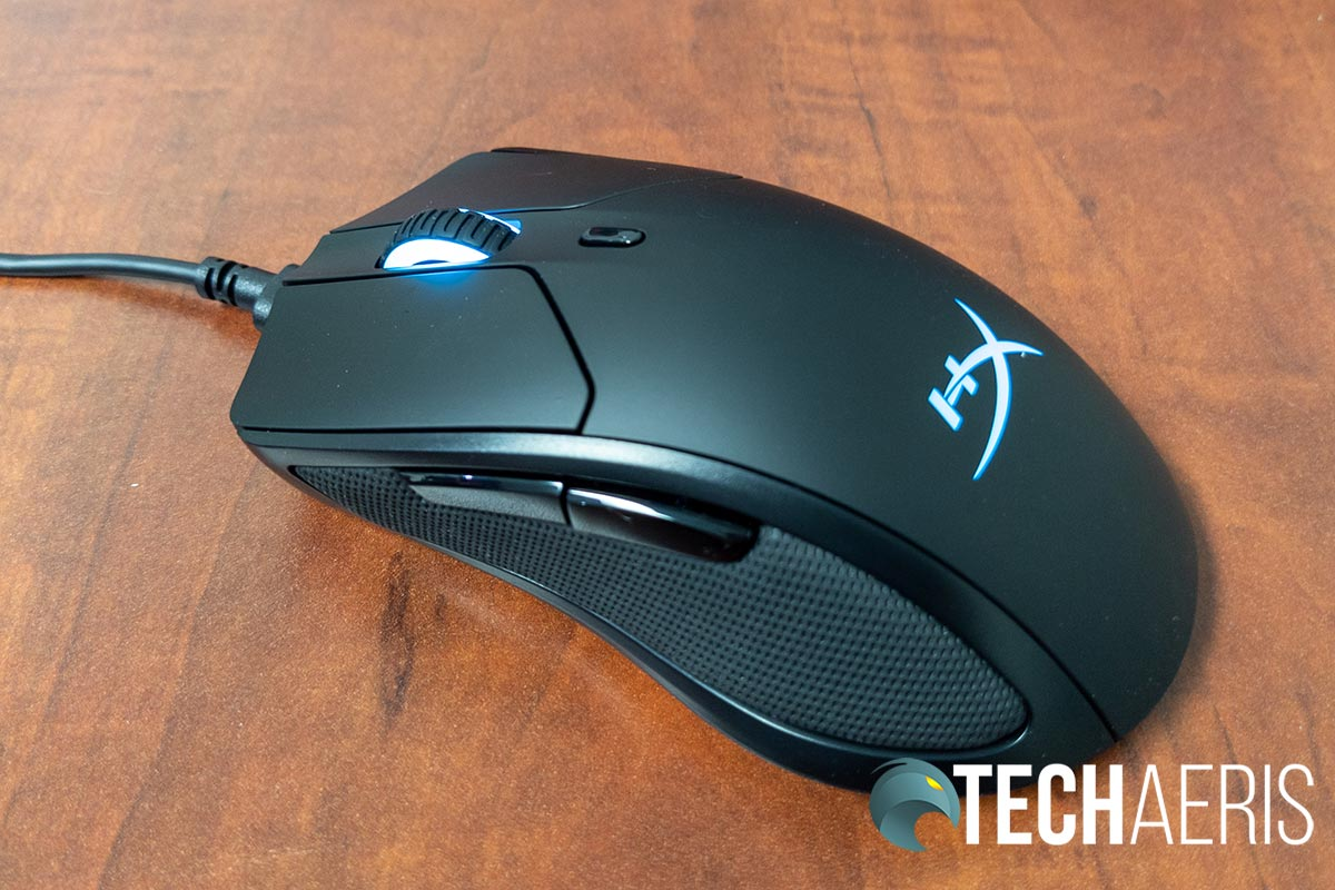 The HyperX Pulsefire Dart wireless gaming mouse