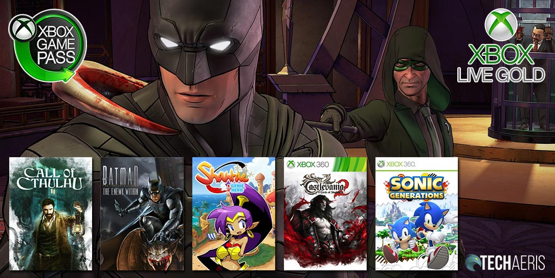 March 2020 Games with Gold