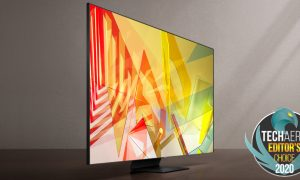 Samsung Q90T 4K TV Techaeris Editors Choice 2020