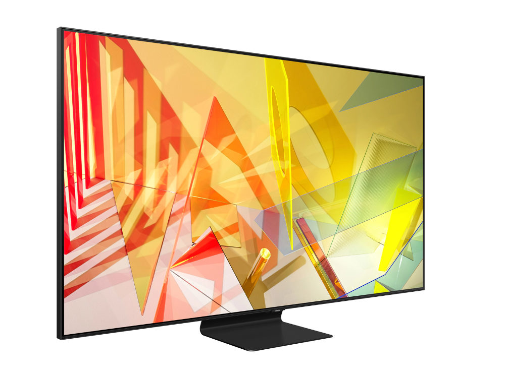 Samsung Q90T 4K TV Techaeris Editor's Choice 2020