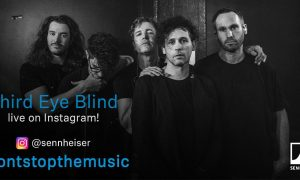 Sennheiser Third Eye Blind streaming concerts Instagram