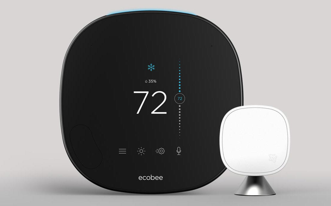 ecobee SmartThermostat smart home device