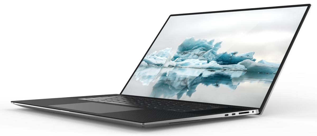 The 2020 Dell XPS 17 laptop