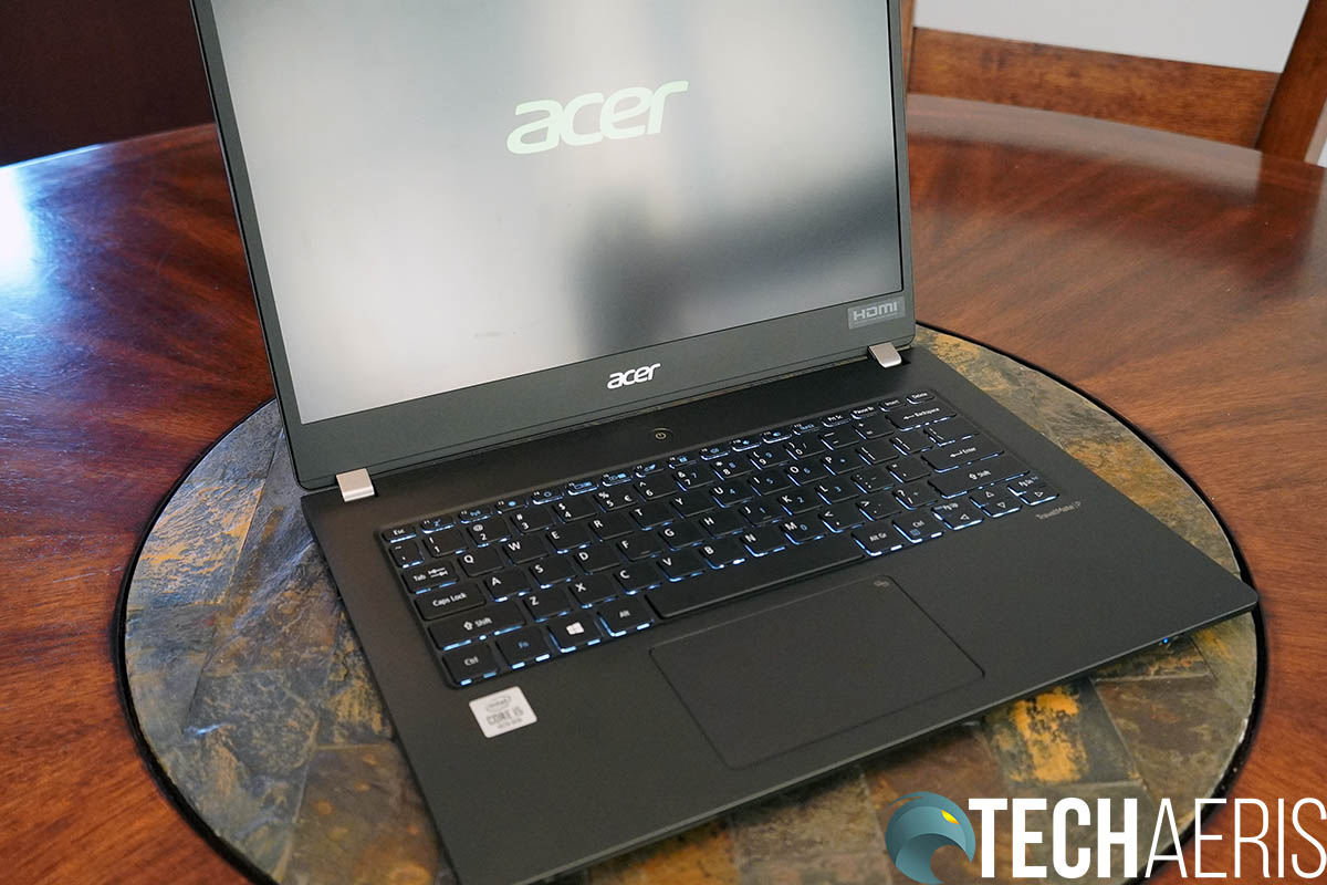Acer TravelMate P6 Front
