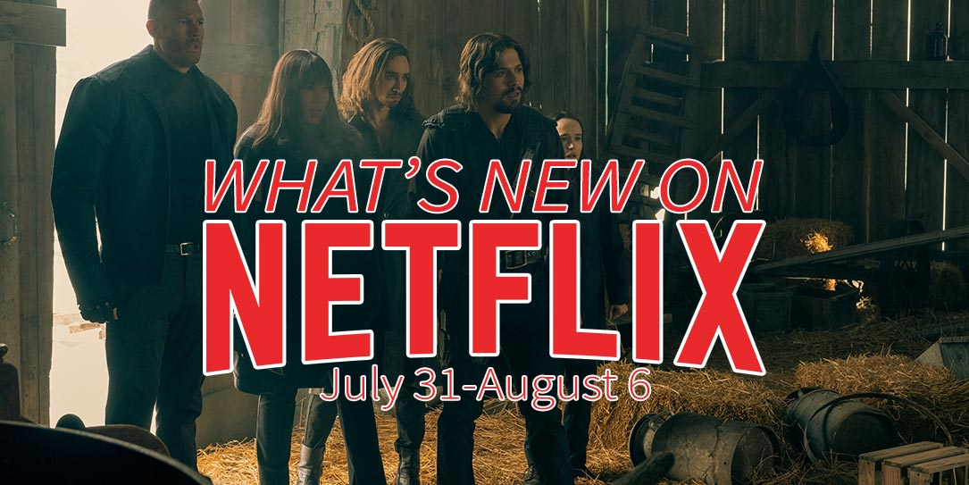 What's new on Netflix July 31-August 6 The Umbrella Academy