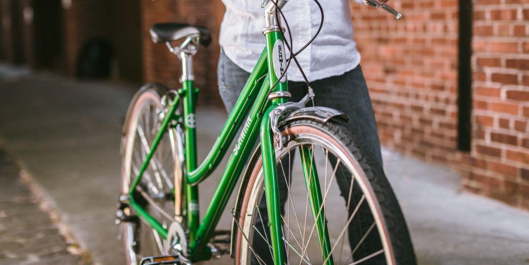 Schwinn bike and Detroit Bikes 2020 Collegiate bicycles