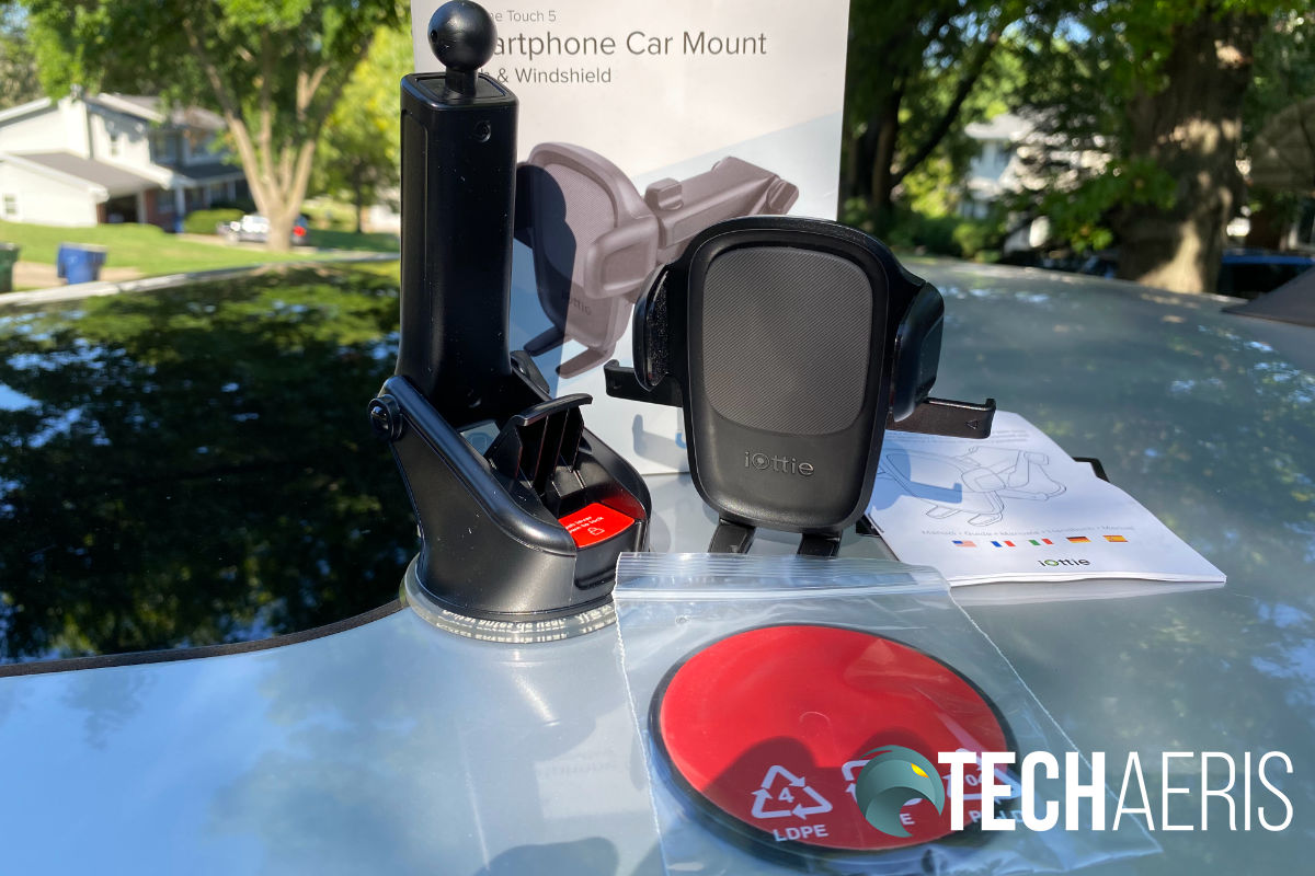 iOttie Easy One Touch 5 smartphone car mount