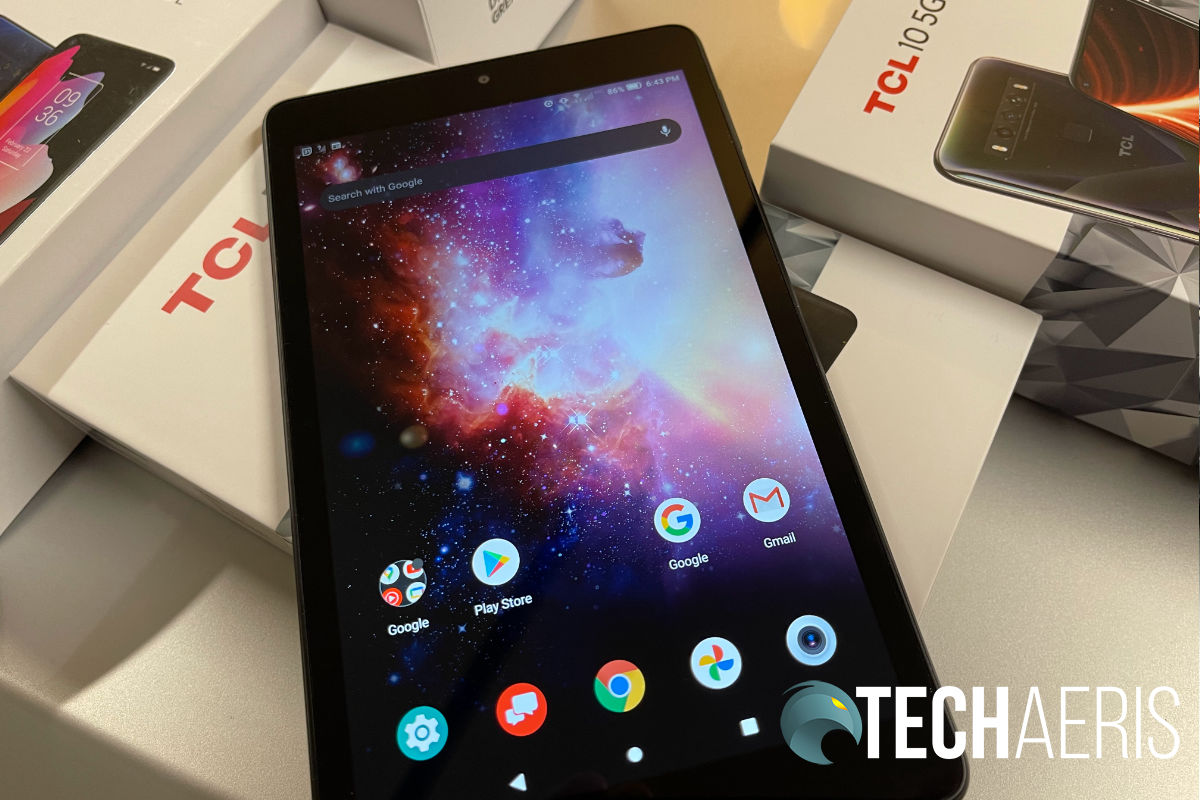 """TCL TAB review: An excellent 8"""" Android tablet for media consumption"""
