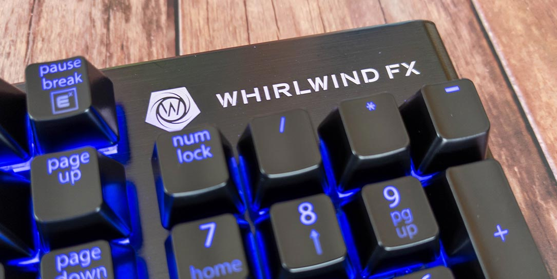 The Whirlwind FX Element mechanical gaming keyboard