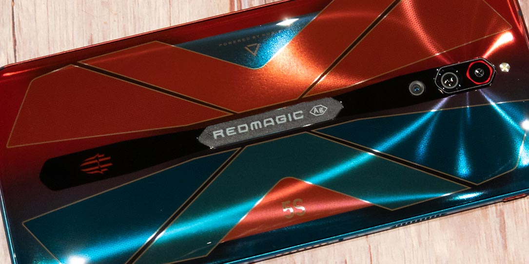 The nubia RedMagic 5S Android gaming smartphone