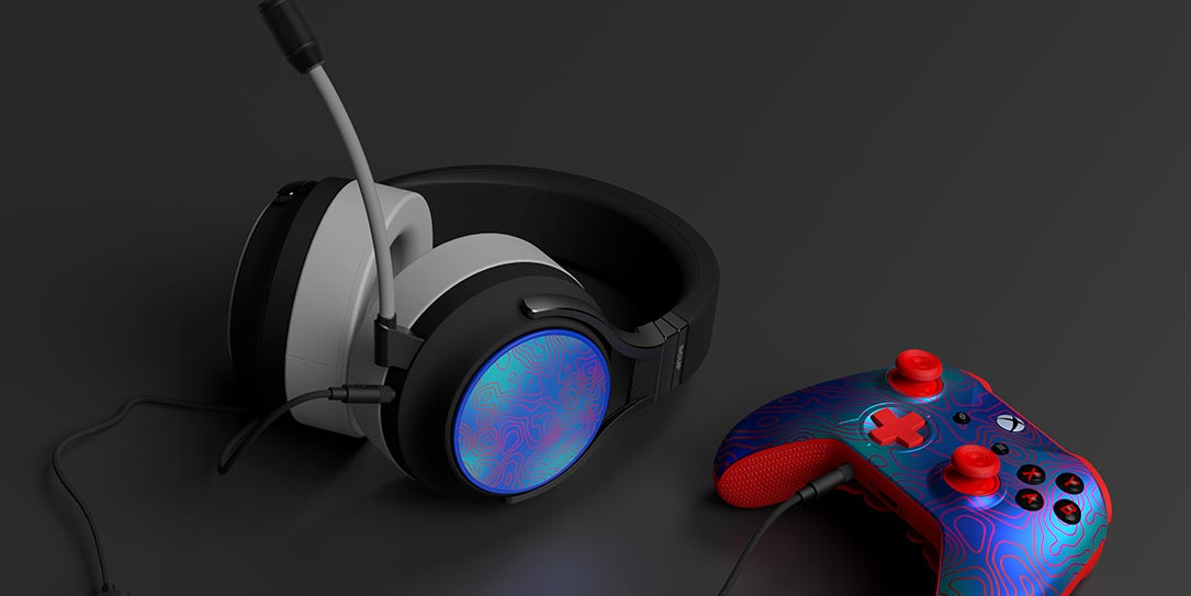 SCUF H1 customizable wired gaming headset