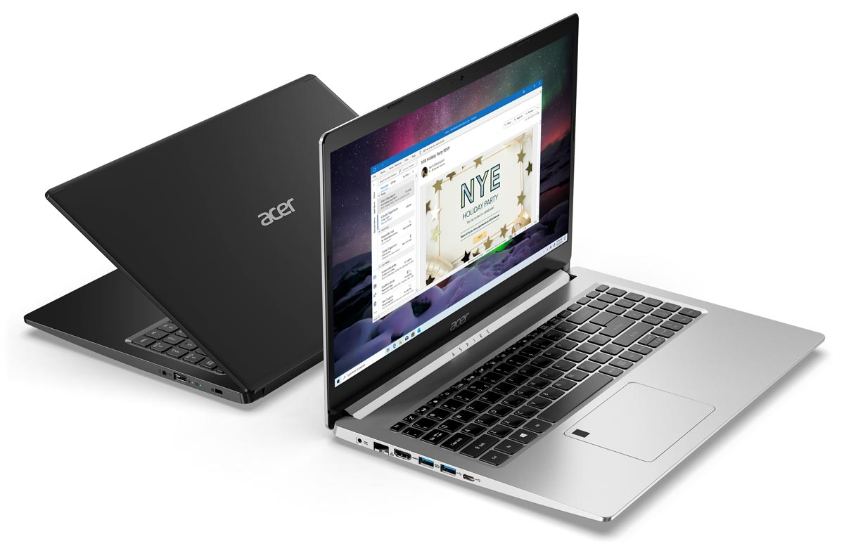 The Acer Aspire 5 gaming notebook