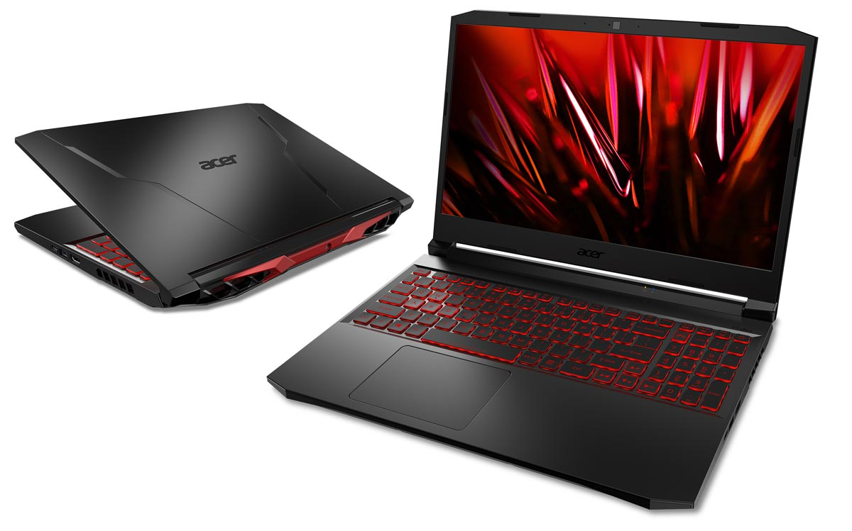 The 15-inch Acer Nitro 5 gaming notebook