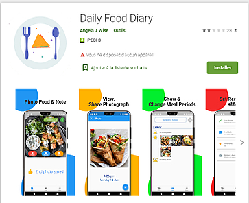 Report: Daily Food Diary app dishes malware up to its users