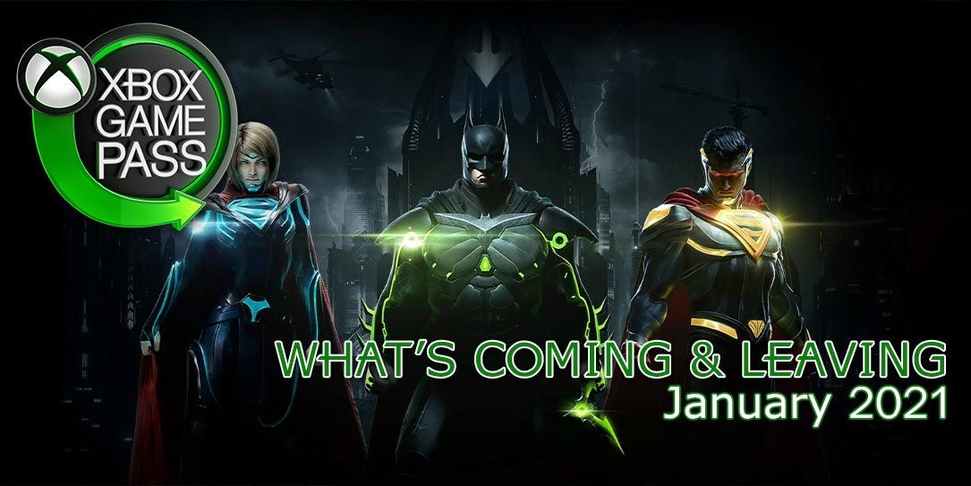 What's coming & leaving Xbox Game Pass January 2021