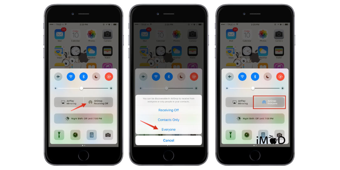 Apple AirDrop Security flaw