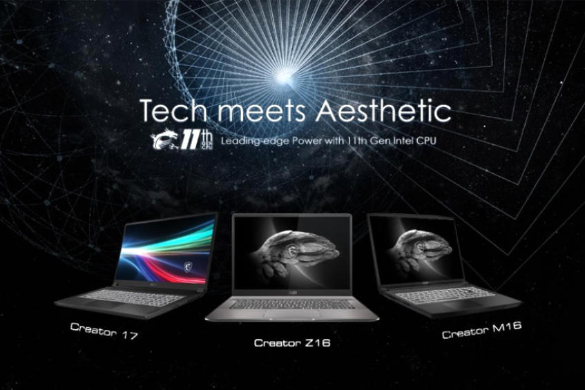 MSI unveils its new gaming and creator laptop lineup