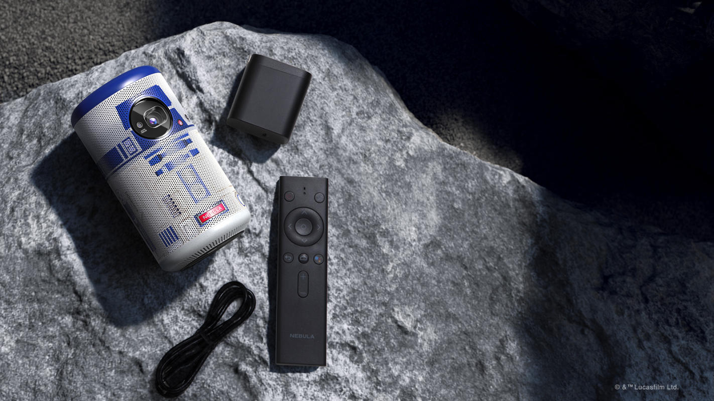 Nebula celebrates May the 4th with the launch of the R2-D2 projector