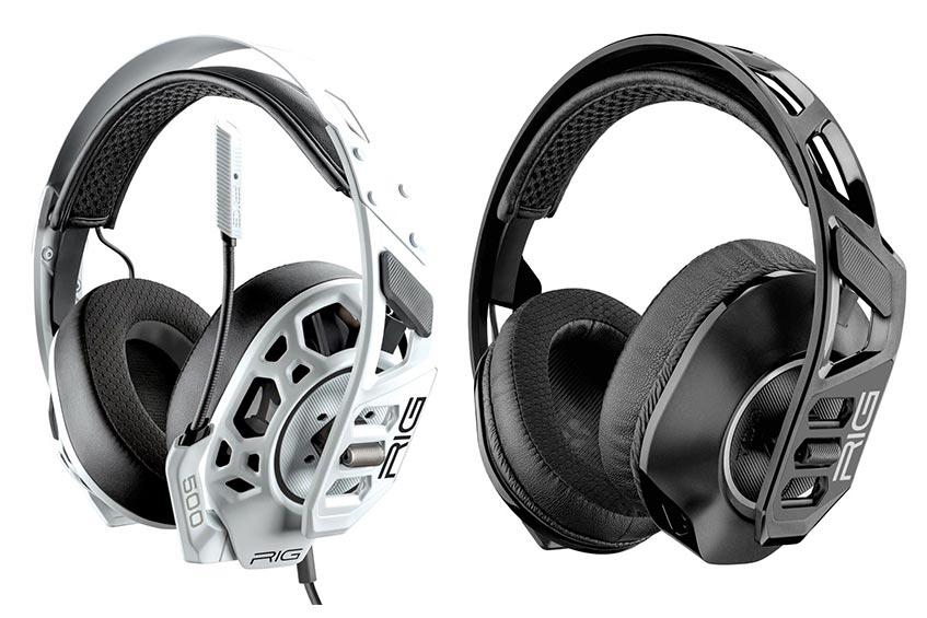 The RIG 500 PRO (left) and RIG 700 PRO gaming headsets