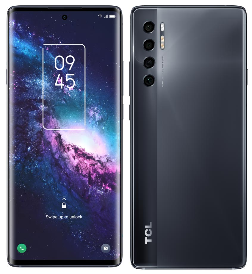 The TCL 20 Pro 5G Android smartphone