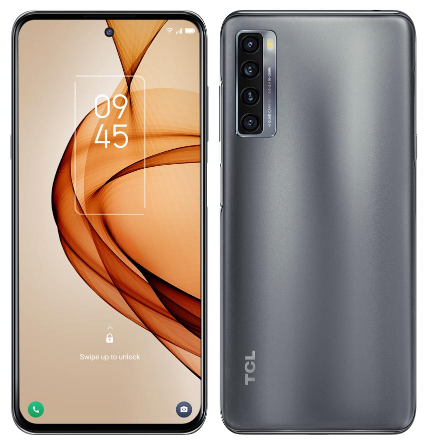 The TCL 20S Android smartphone