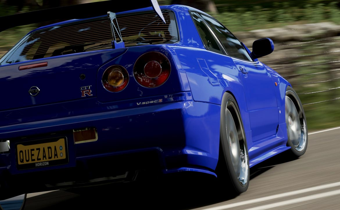 Nissan GT-R from Forza