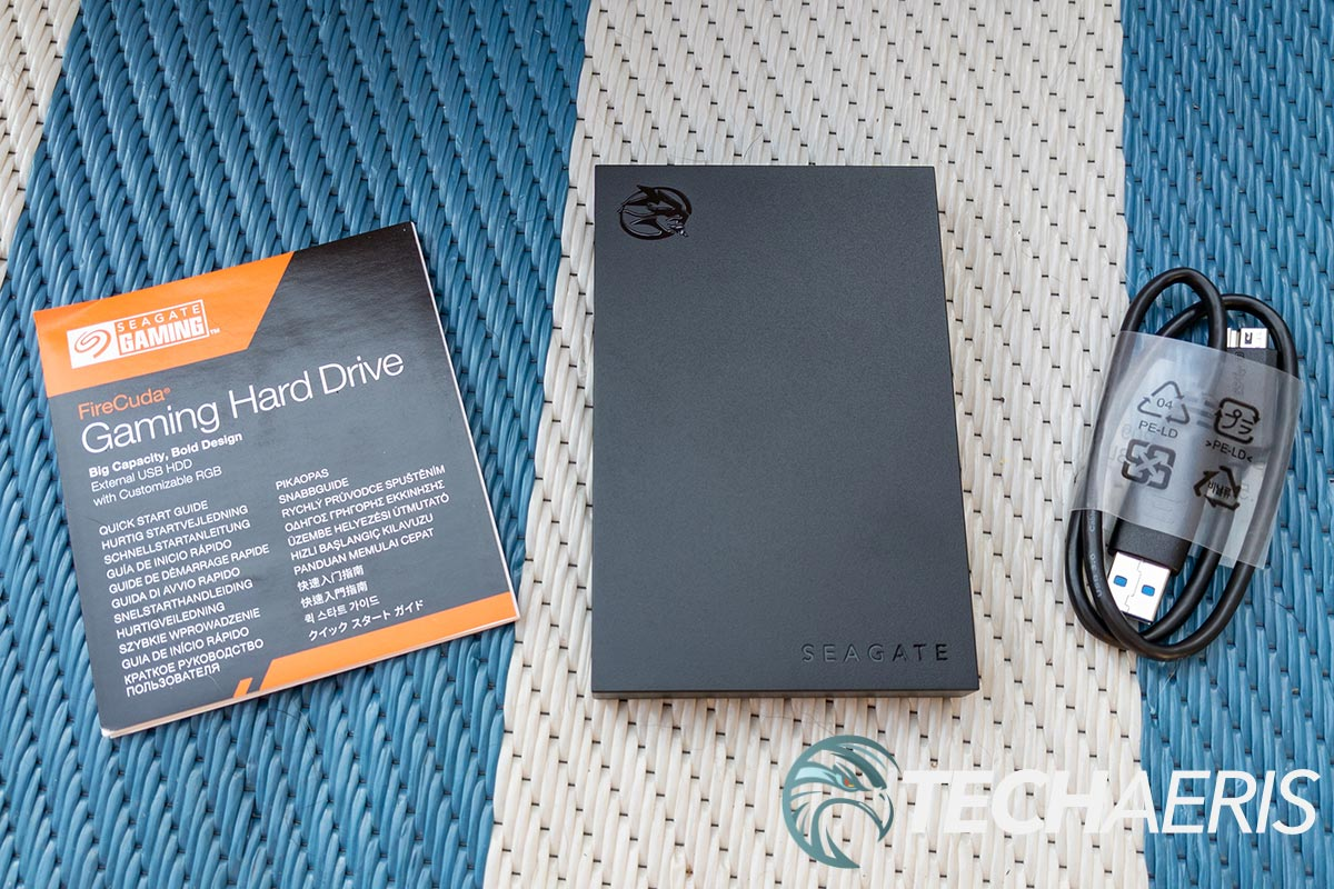 What's included with the Seagate Gaming FireCuda Gaming Hard Drive