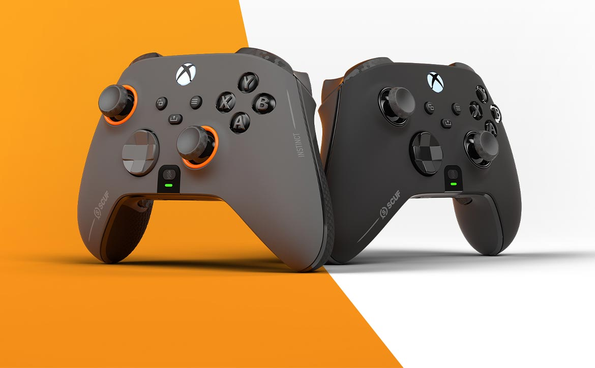 SCUF Instinct and Instinct Pro wireless game controllers for Xbox Series X|S