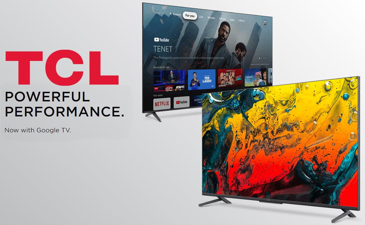 TCL 5-Series 6-Series with Google TV