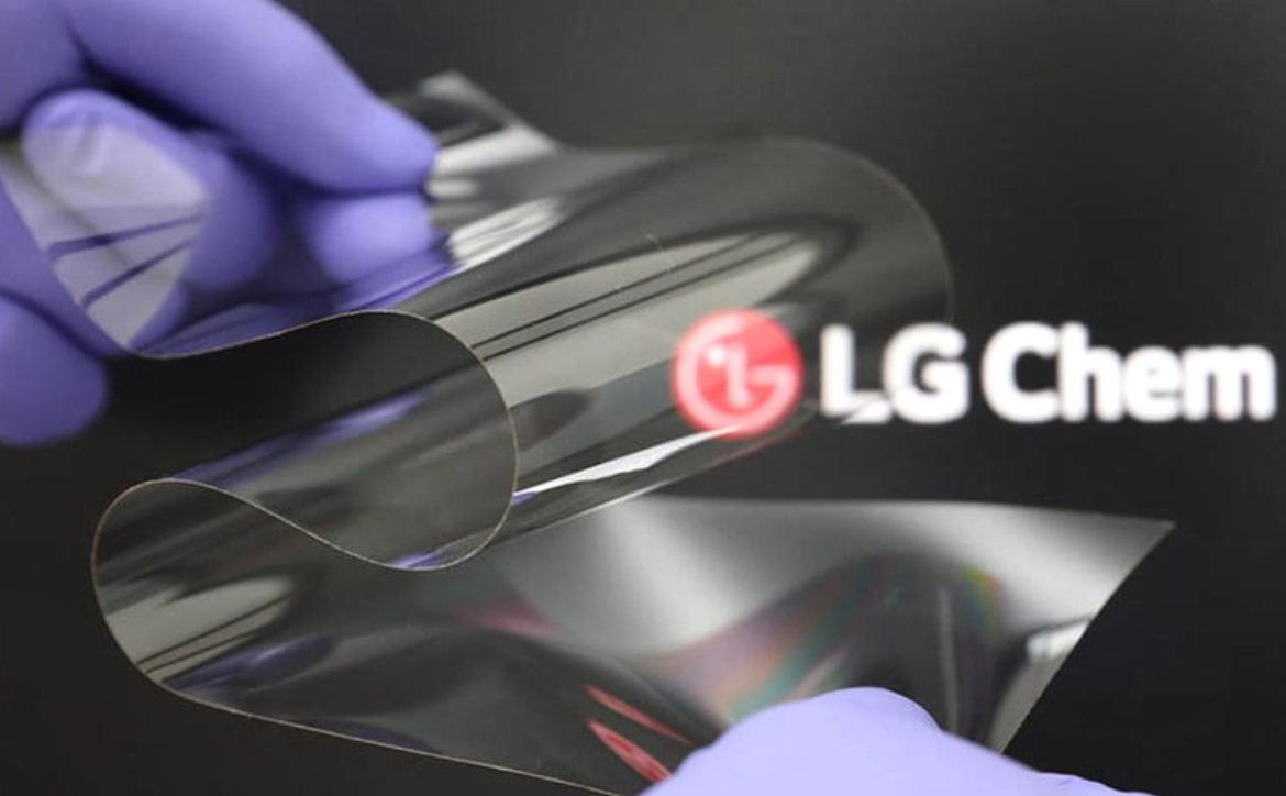 LG's Real Folding Window...could this be in a potential folding iPhone?