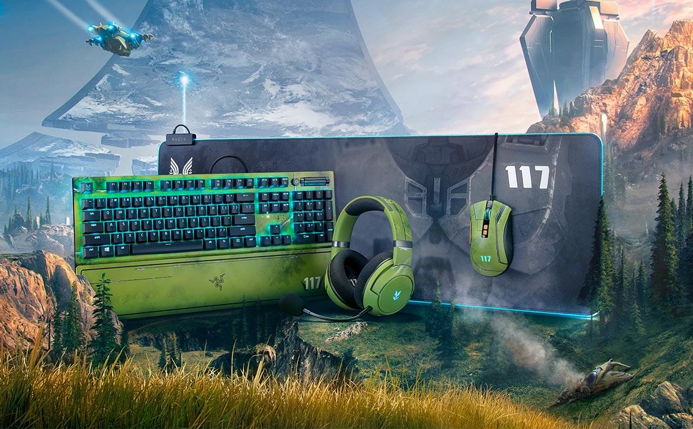 Razer Halo Infinite peripherals