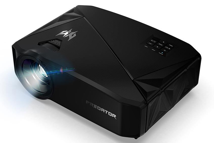 The Acer Predator GD711 gaming projector