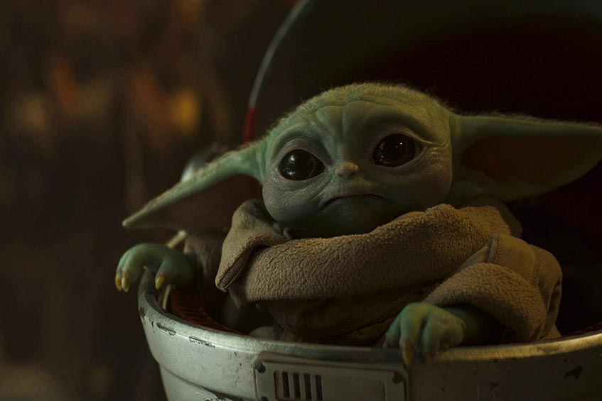 Groku, a.k.a. Baby Yoda, quickly became a favorite character in The Mandalorian