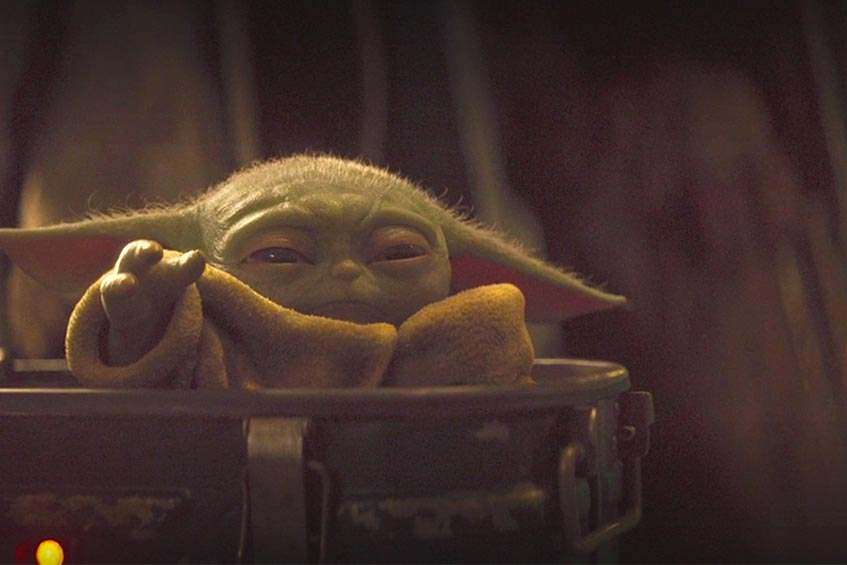 Baby Yoda did use the Force Choke on Cara Dune at one point in The Mandalorian