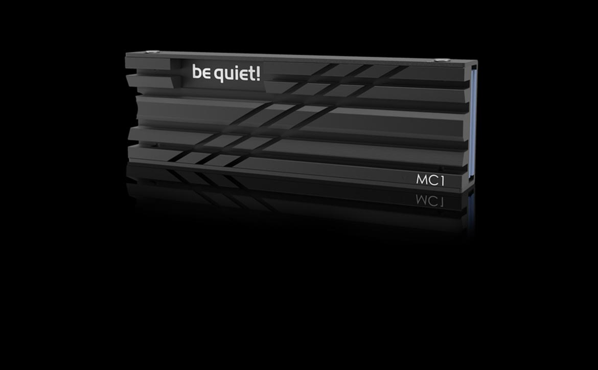 be quiet! MC1 SSD cooler for PS5 SSD upgrade