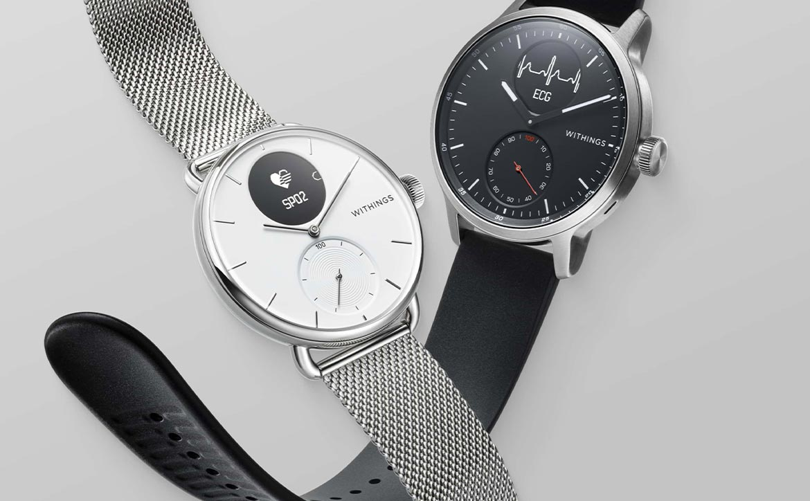 Withings ScanWatch with atrial fibrillation detection