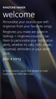 Windows Phone 8.1 Ringtone Maker