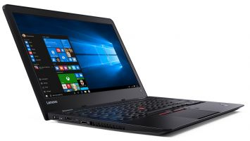 Lenovo-ThinkPad-13-Black-Open-Left