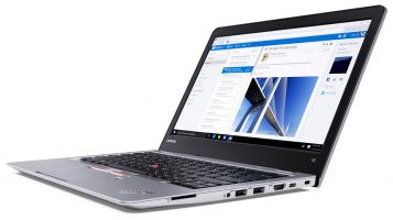 Lenovo-ThinkPad-13-Silver-Open