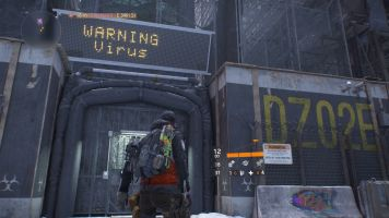 Tom Clancy's The Division warning virus