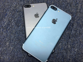 Blue iPhone 7