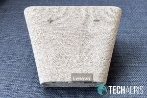 Lenovo Smart Clock top view