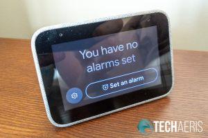 Lenovo Smart Clock default alarm screen