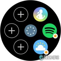 Set favourite apps on the Samsung Galaxy Watch Active