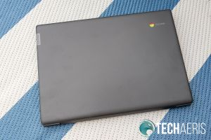 Top of the Lenovo Chromebook S330